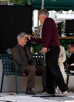 NCIS BTS - Mark getting new Makeup