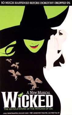 Just waiting for the Wicked Musical to come back to Houston. I'm waiting motherrrr :)