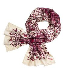 Oblong scarf, put in the Workweek section.