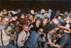 Dangerous Minds | Mosh Pits (Human and Otherwise): Old master painting style captures the wildness of the crowd