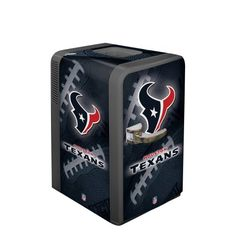NFL Houston Texans Portable Party Refrigerator from Boelter Brands Black Friday Cyber Monday