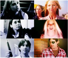 BTVS First and last, Chosen. Buffy, Willow and Xander. The Hitchhiker, Sarah Michelle Gellar, Joss Whedon, Geek Out, Buffy The Vampire Slayer, Supernatural, Movie Tv, Nerdy, Fandoms