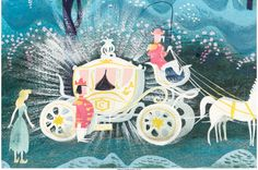 Mary Blair Cinderella Coach with Coachman and Horses Concept Art & Lot & Heritage Auctions The post Mary Blair Cinderella Coach with Coachman and Horses Concept Art Art Disney, Disney Concept Art, Disney Love, Frozen Disney, Cinderella Art, Cinderella Coach, Mary Blair, Rabbit Illustration, Retro Illustration