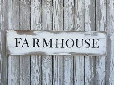 A personal favorite from my Etsy shop https://www.etsy.com/listing/399800943/farmhouse-sign-70-color-options-wood
