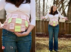 I totally want a maternity photo like this!!