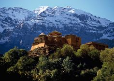 Kasbah du Toubkal in Imlil, Morocco | 22 Of The Most Secluded Hotels In The World