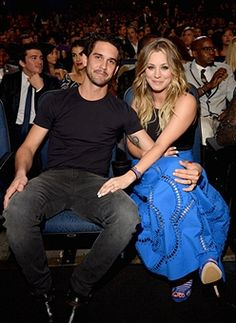 People's Choice Awards Newlyweds Kaley Cuoco and Ryan Sweeting