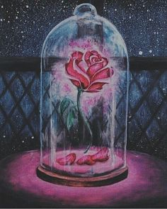 Image discovered by boredtodeathsurvive. Find images and videos about beauty, art and flowers on We Heart It - the app to get lost in what you love. Disney Kunst, Arte Disney, Disney Pixar Up, Disney Fan Art, Beauty And The Beast Wallpaper, Illustrator, Disney Canvas, Watercolor Splatter, Disney Paintings