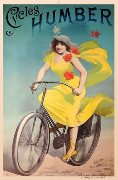 French bicycle poster...so cute