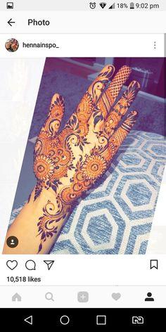 Khafif Mehndi Design, Floral Henna Designs, Mehndi Designs Book, Stylish Mehndi Designs, Dulhan Mehndi Designs, Mehndi Design Pictures, Wedding Mehndi Designs, Mehndi Designs For Fingers, Henna Designs Easy