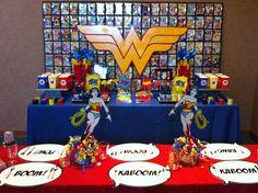 Girlie superhero party!!  Google Image Result for http://3.bp.blogspot.com/_Ffja5A7i53k/TM9SpdoniTI/AAAAAAAAFwo/NEsDXMQwv84/s1600/wonder%2Bwoman%2Bstable.png