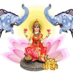 The Goddess Lakshmi- beauty and wealth