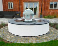 Allison Armour's now famous Aqualens Sphere Water Fountain is the perfect addition to your garden or outdoor space. View gardens with water features here. Stuart Smith, Timber Buildings, Outdoor Spaces, Outdoor Decor, Garden Projects, Water Features, Service Design, Fountain, Garden Design