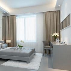 cortinas modernas para dormitorios buscar con google decoracin para la casa pinterest living rooms bedrooms and room