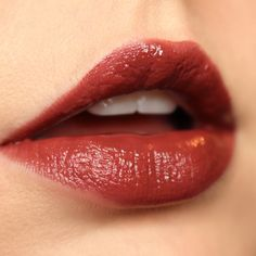 Milani Amore Shine Temptation Lip Swatch - click to see more shades!