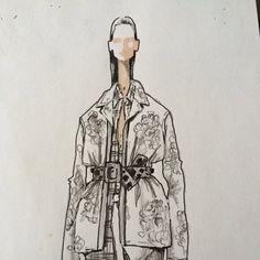 Exclusive sketch by Alessandro dell'Acqua #numeroventuno #n21 @dellacqua