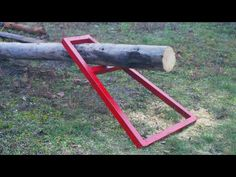 Amazing DIY Tool idea for Simple cutting firewood - YouTube Firewood Logs, Diy Go Kart, Cool Inventions, Tools And Equipment, Welding Projects, Wood Cutting, Diy Tools, Youtube, Amazing