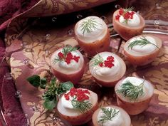 Party Potatoes ~ Such a festive look!