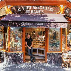 Un antico negozio di pasticcini di Parigi