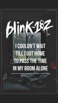 Adam's Song-Blink 182