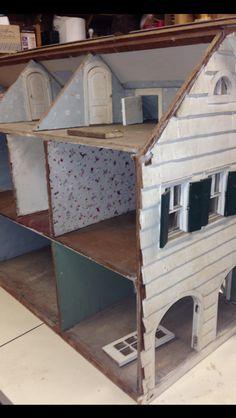 Dollhouse prior to restoration.