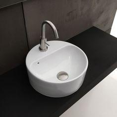 Waschbecken Normal 03C   aufgesetzt installiert