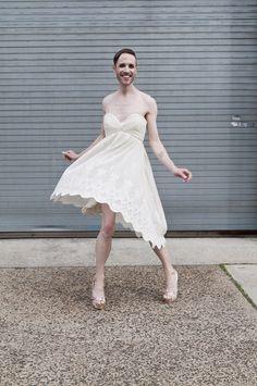 Gender fluid wedding dress photo shoot as seen on @offbeatbride