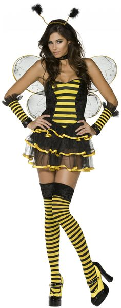 Sexy bee costume for women : Vegaoo Adult Costumes