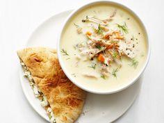 Greek Lemon Chicken Soup recipe from Food Network Kitchen via Food Network