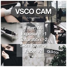 #dopefilterssvscocam free filter ❕vv nice filter that would look great for a feed. works best on basic colours. — free filter but you have to get it in the vsco store — reveals, tutorials and any special post would always be the middle picture (?) if that makes any sense to you