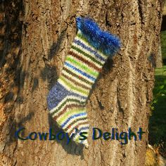 Rustic Christmas Stocking Cowboy's Delight