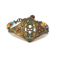 Adjustable Hand Painted Victorian Style by FairyUniqueJewelry