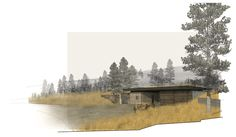 MW Works, Seattle, Tractor Shed Rendering