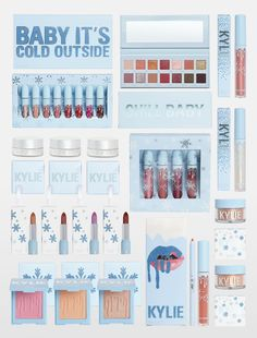 Shop bundles & sets products by Kylie Cosmetics. Selection of Kylie Jenner's bundles - lip set, matte single, kyshadow, and Kylie's favorites bundles. Paleta Kylie Jenner, Maquillaje Kylie Jenner, Kylie Jenner News, Kylie Jenner Holiday Collection, Kylie Cosmetics Holiday Collection, Kylie Collection, Kylie Jenner Makeup Collection, Kylie Makeup, Makeup Set