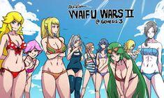 waifu wars ii: electric boogaloo by akairiot on DeviantArt Super Smash Bros Memes, Nintendo Super Smash Bros, Super Mario Bros, Wii Fit, Animes On, Video Games Girls, Samus Aran, Girls Anime, Metroid