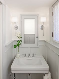 Good idea if you have dated fixtures in a bathroom. Just color match the paint to the fixture & you have a cohesive look:)