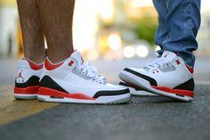 sweetsoles: Nike Air Jordan III Retro Fire Red (by chmielna20)