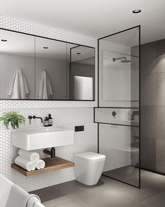 You need a lot of minimalist bathroom ideas. The minimalist bathroom design idea has many advantages. See the best collection of bathroom photos. Bathroom Design Small Modern, Bathroom Renovation, Bathroom Decor, Small Bathroom Remodel, Amazing Bathrooms, Bathrooms Remodel, Luxury Bathroom, Modern Small Bathrooms, Bathroom Renovations