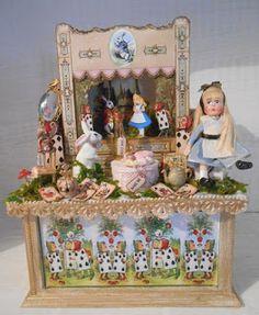 Alice in Wonderland themed mini theater