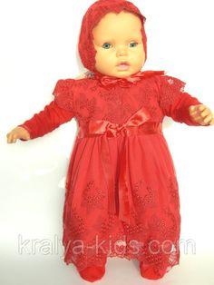 2df280ff1687f0 Крестильное платье, шапочка, пинетки рост 68 см. Украина., фото 1