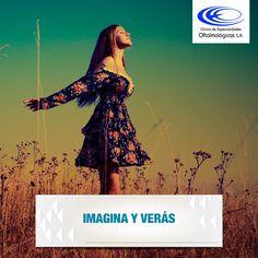 ¡La imaginación es otra forma de ver las cosas! #FraseDelDiaClinicaCEO www.ceomedellín.com Foto vía #Pinterest