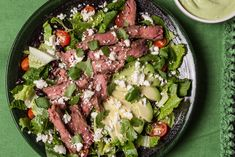 Mexican Grilled Steak Salad  Recipe