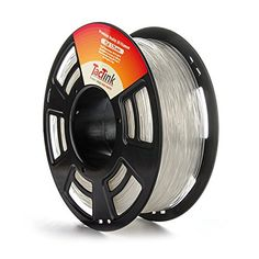Clear 3D Printing Filament PLA 1.75mm 2.2LBS, Dimensional Accuracy of +/- 0.05mm - http://www.real3dprinter.com/3d-printing-materials/clear-3d-printing-filament-pla-1-75mm-2-2lbs-dimensional-accuracy-of-0-05mm/?utm_source=PN&utm_medium=Pinterest+3d+printers&utm_campaign=SNAP%2Bfrom%2BThe+3D+Printing+Website  #005Mm, #175Mm, #22Lbs, #Accuracy, #Clear, #Dimensional, #Filament, #Printing