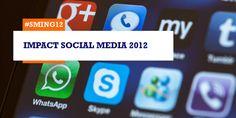 Onderzoek: social media winnen aan belang t.o.v. online en traditionele media (#sming12)