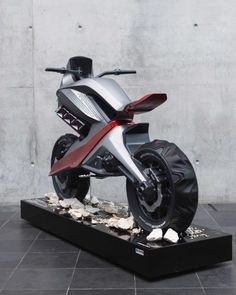 Draft Patrick Kandora - BMW Vision GS Voltage. The future of two-wheeled off-road - Cardesign.ru - The main resource of the vehicle design. Design cars. Portfolio. Photo Gallery. Projects. Design Forum.