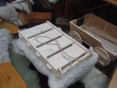 wooden viking sledge toboggan handmade in by backinthedayreenact, £50.00
