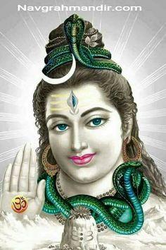 Har Har Mahadev Bhole Shambhu Bhole Nath at Shree Navgrah Mandir Khargone http:// www.navgrahmandir.com /