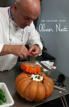 En cuisine avec Olivier Nasti
