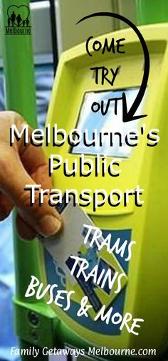 Explore Public Transport in Melbourne, trains, trams, buses and so much more. Click the image for more information.