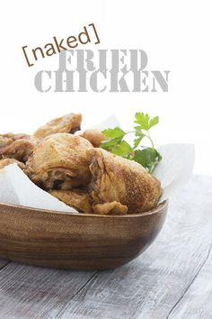 Best low carb keto fried chicken recipe. No breading at all, just incredibly crispy skin! LCHF Banting THM Atkins Recipe via @dreamaboutfood